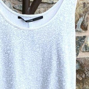 KENSIE *NWT* White Sequined Tank Top XL